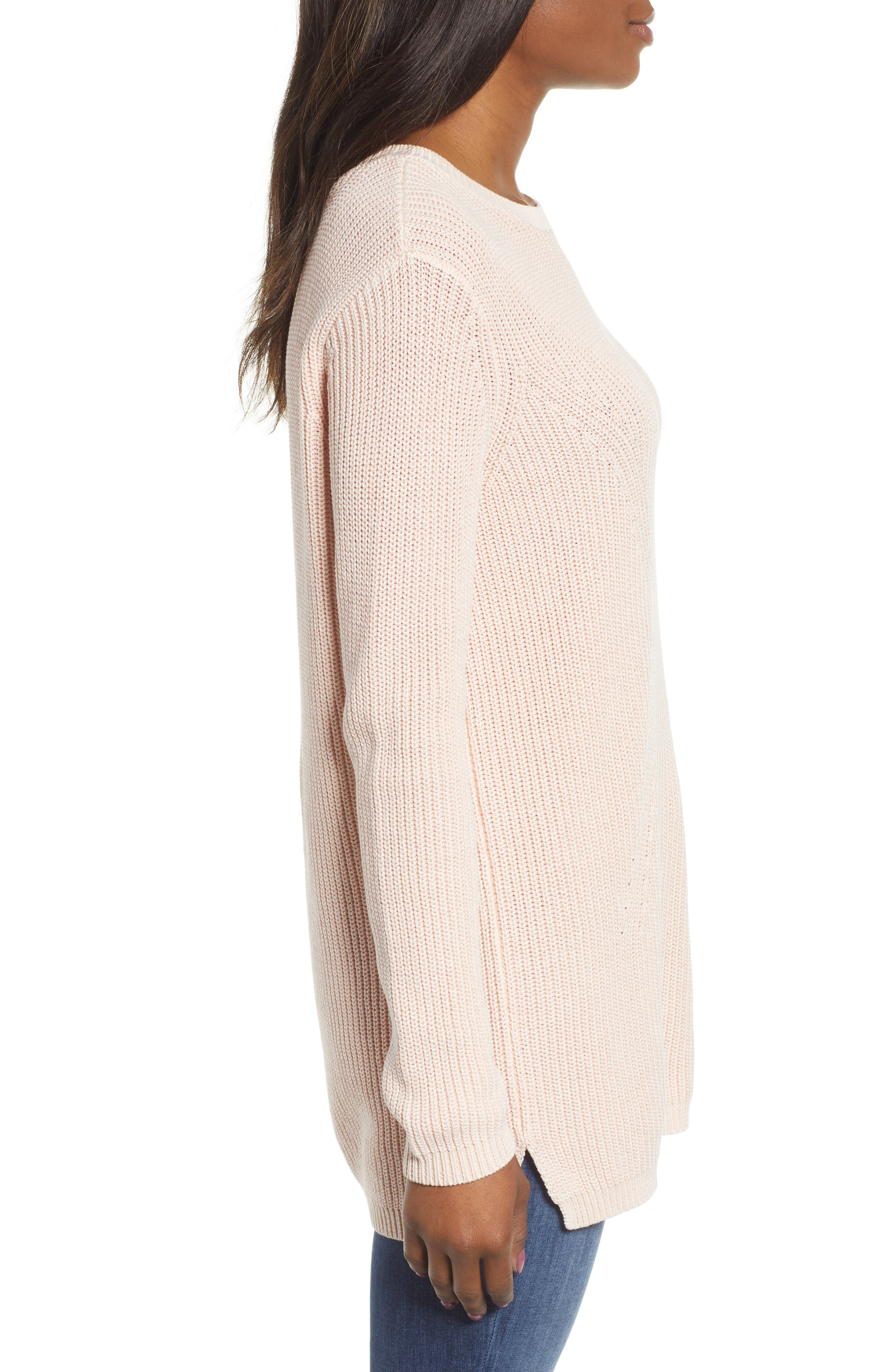 ,                             Tie Back Tunic Sweater,                             Alternate thumbnail 39, color,                             681
