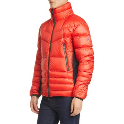 Moncler Grenoble Canmore Down Jacket, Orange