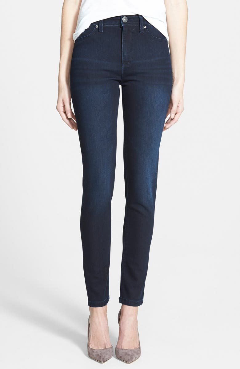 63d3a2cc DL1961 'Nina' High Rise Skinny Jeans (Pierre) | Nordstrom
