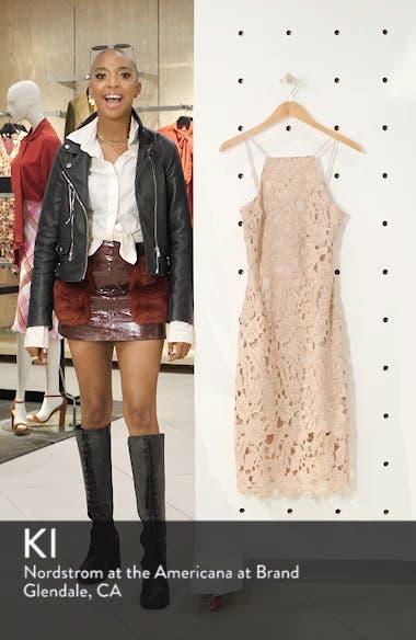 Halter Top Lace Midi Dress, sales video thumbnail