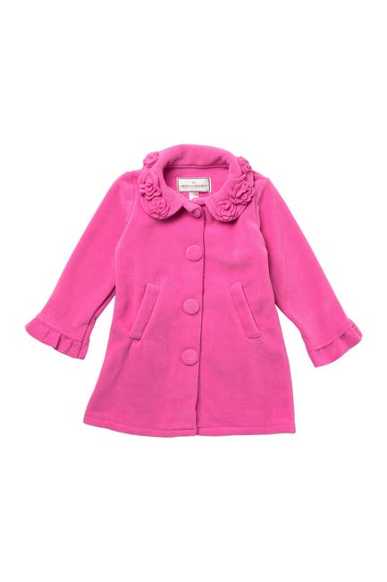 Image of WIDGEON Flower Collar Dress Coat