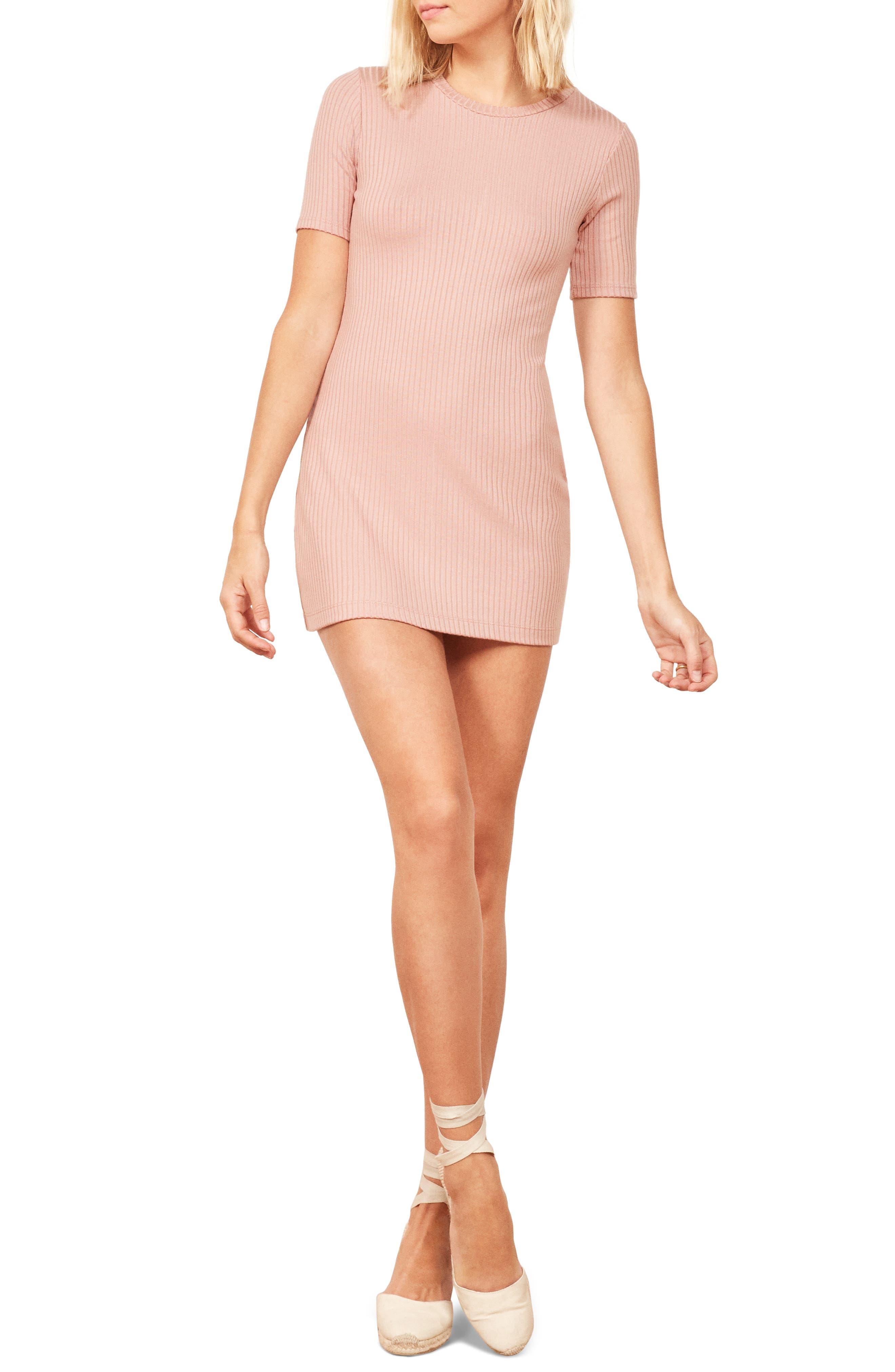 Reformation Gigi Dress, Pink