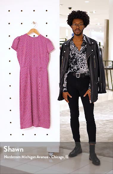 Printed Side Slit Dress, sales video thumbnail