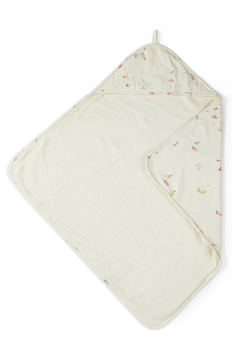 PEHR Birds of a Feather Hooded Towel, Main, color, MULTI