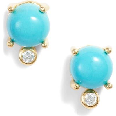 Argento Vivo Stone & Cubic Zirconia Stud Earrings