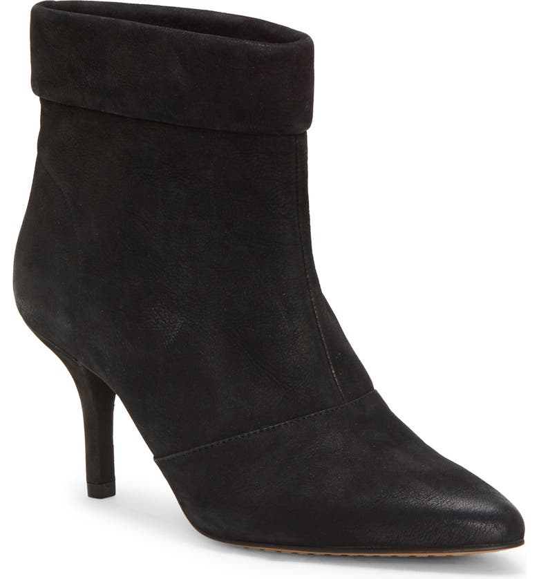 VINCE CAMUTO Amvita Bootie, Main, color, BLACK LEATHER