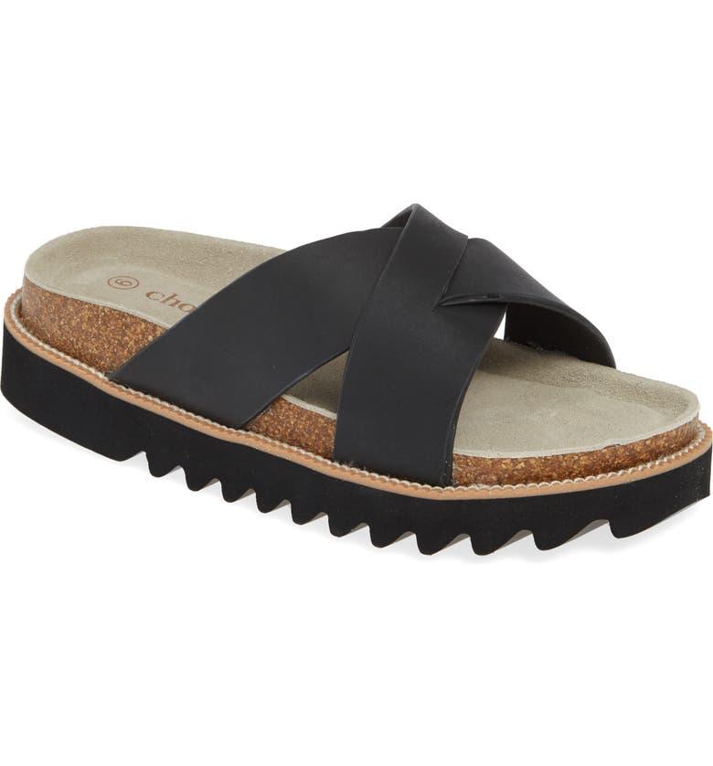CHOOKA Paige Slide Sandal, Main, color, 001