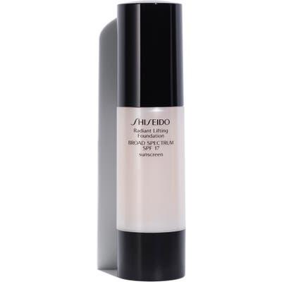 Shiseido Radiant Lifting Foundation Spf 17, oz - I40 Natural Fair Ivory