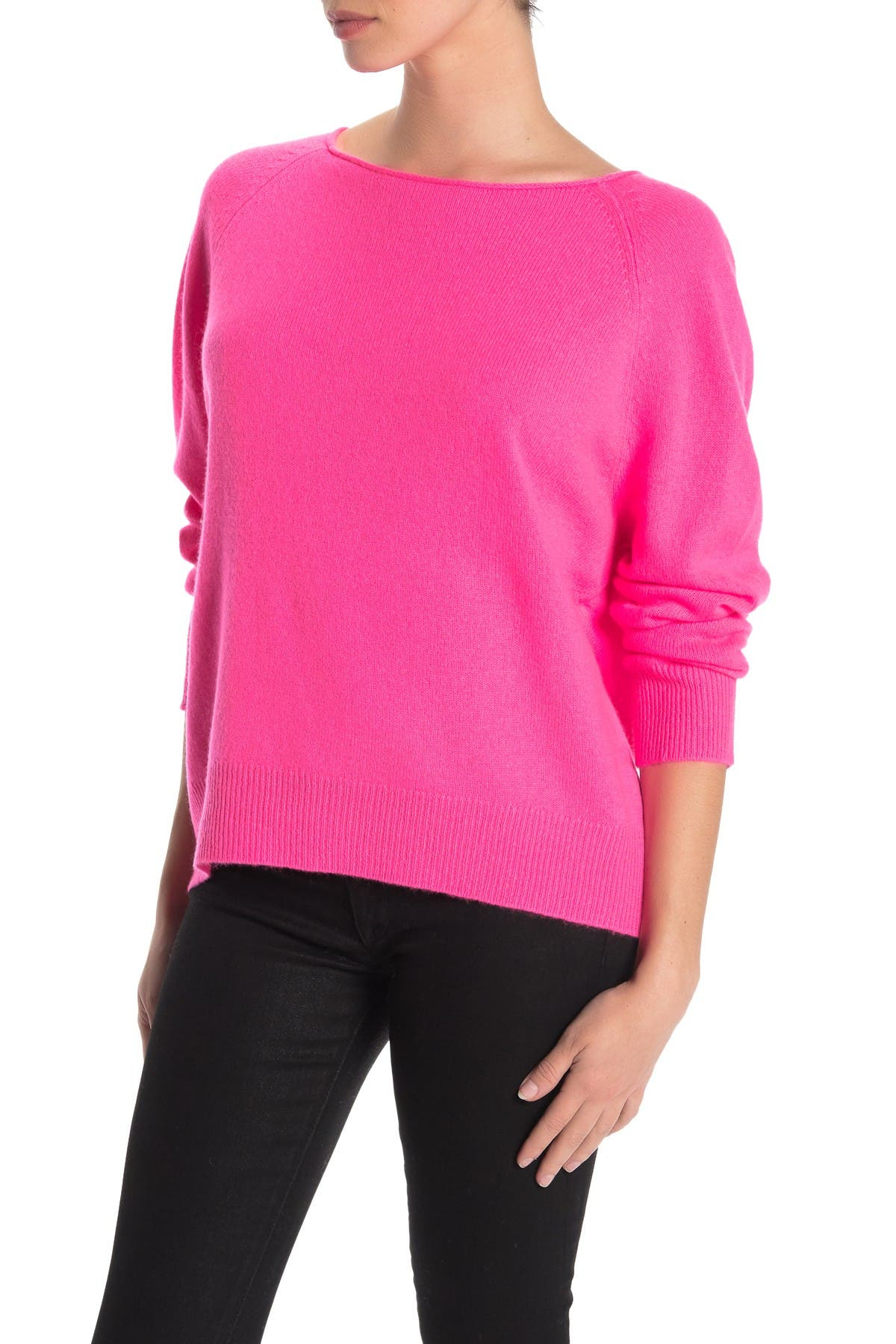 Image of 360 Cashmere Jolene Boatneck Cashmere Sweater
