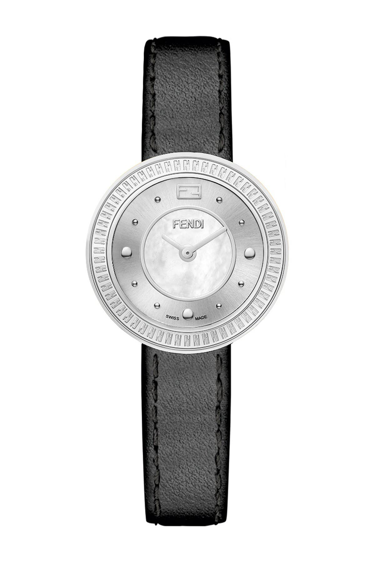 Image of FENDI Women's Fendi My Way Leather Strap Watch, 28mm