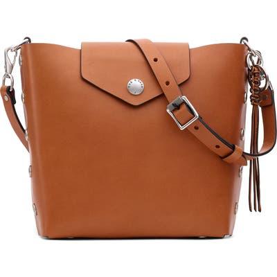 Rag & Bone Atlas Leather Bucket Bag - Brown