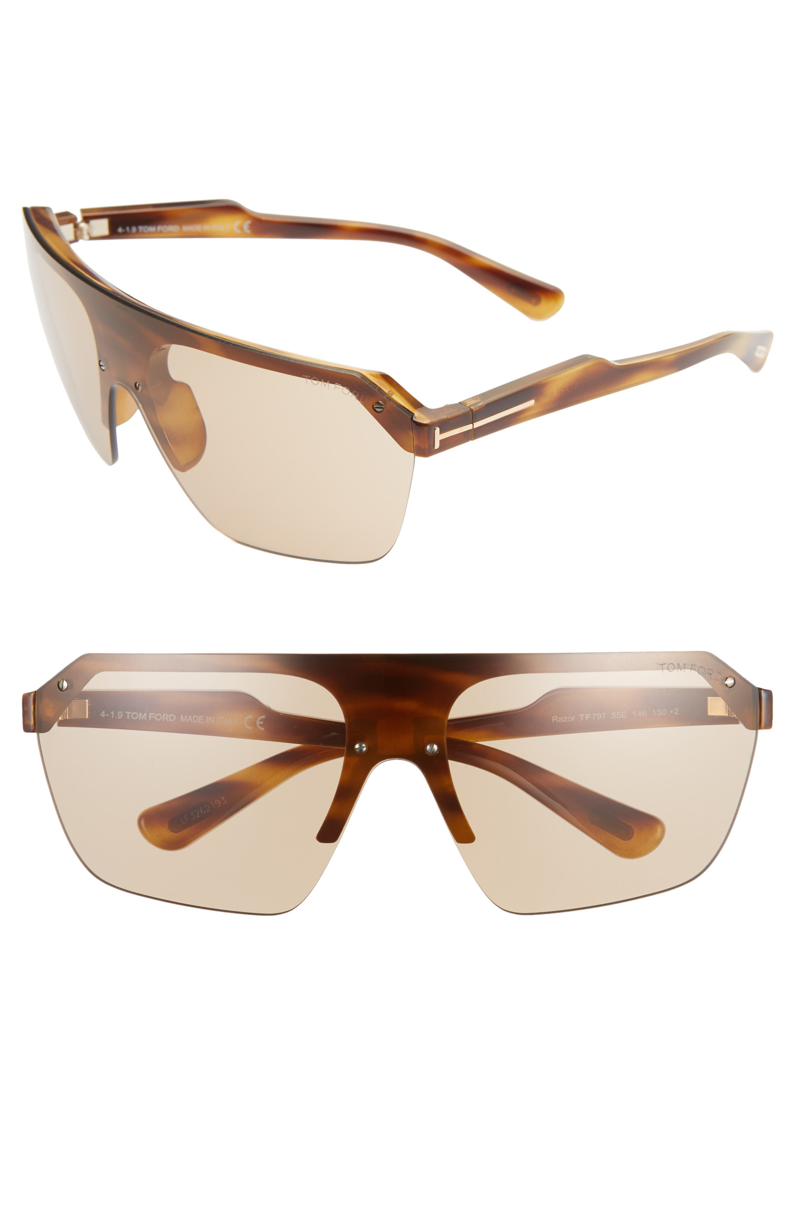 Image of Tom Ford Razor 155mm Shield Sunglasses
