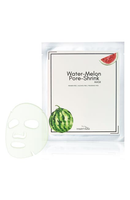 Image of MARTINNI MASKS Water Melon Pore Shrink Mask - Pack of 5
