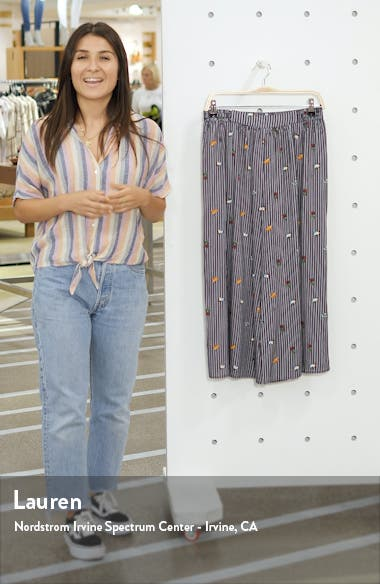 Fruit Salad Crop Wide Leg Pants, sales video thumbnail