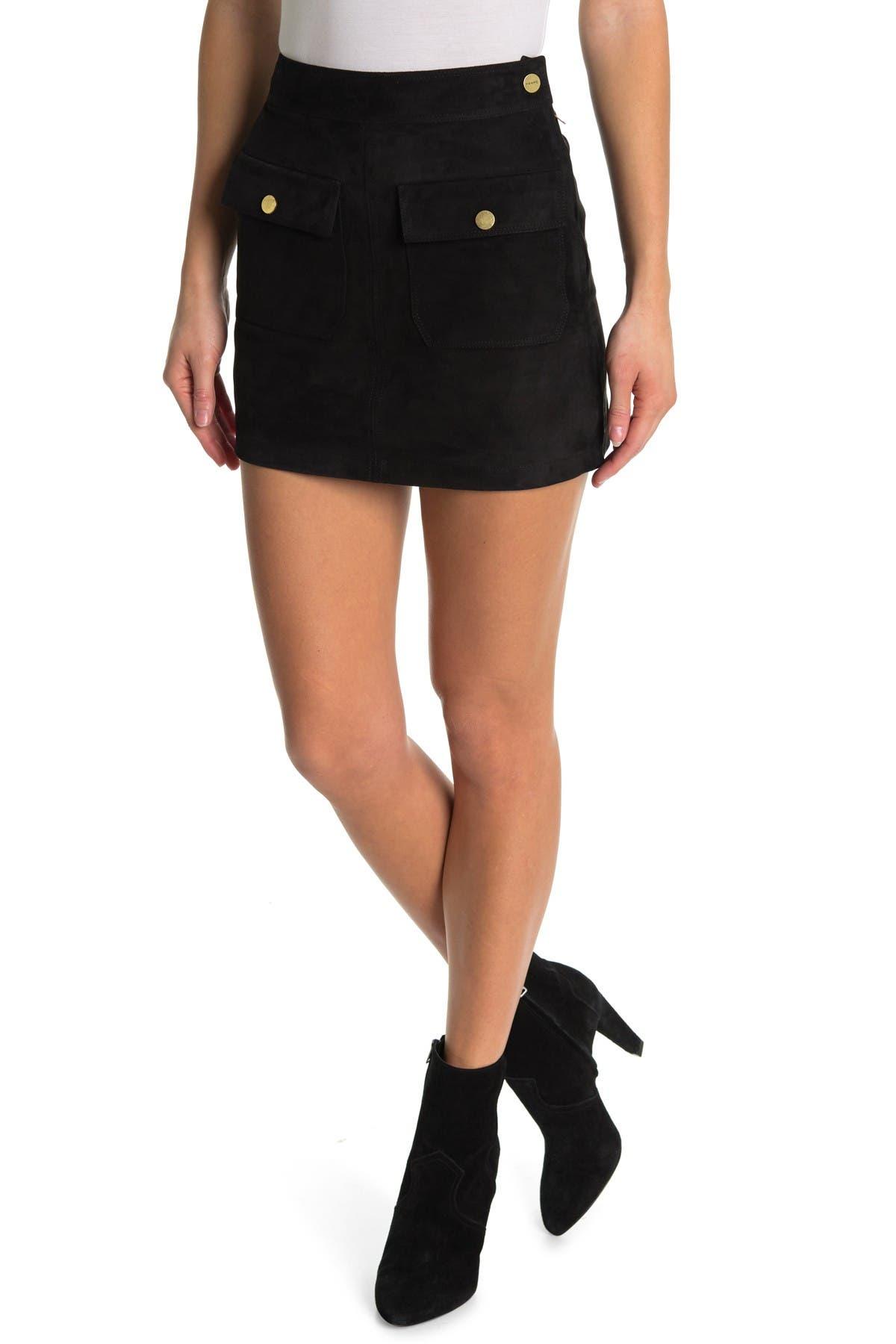 Image of FRAME Bailey Mini Skirt