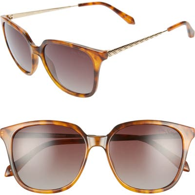 Lilly Pulitzer Haylee 5m Sunglasses - Caramel Tortoise/ Brown