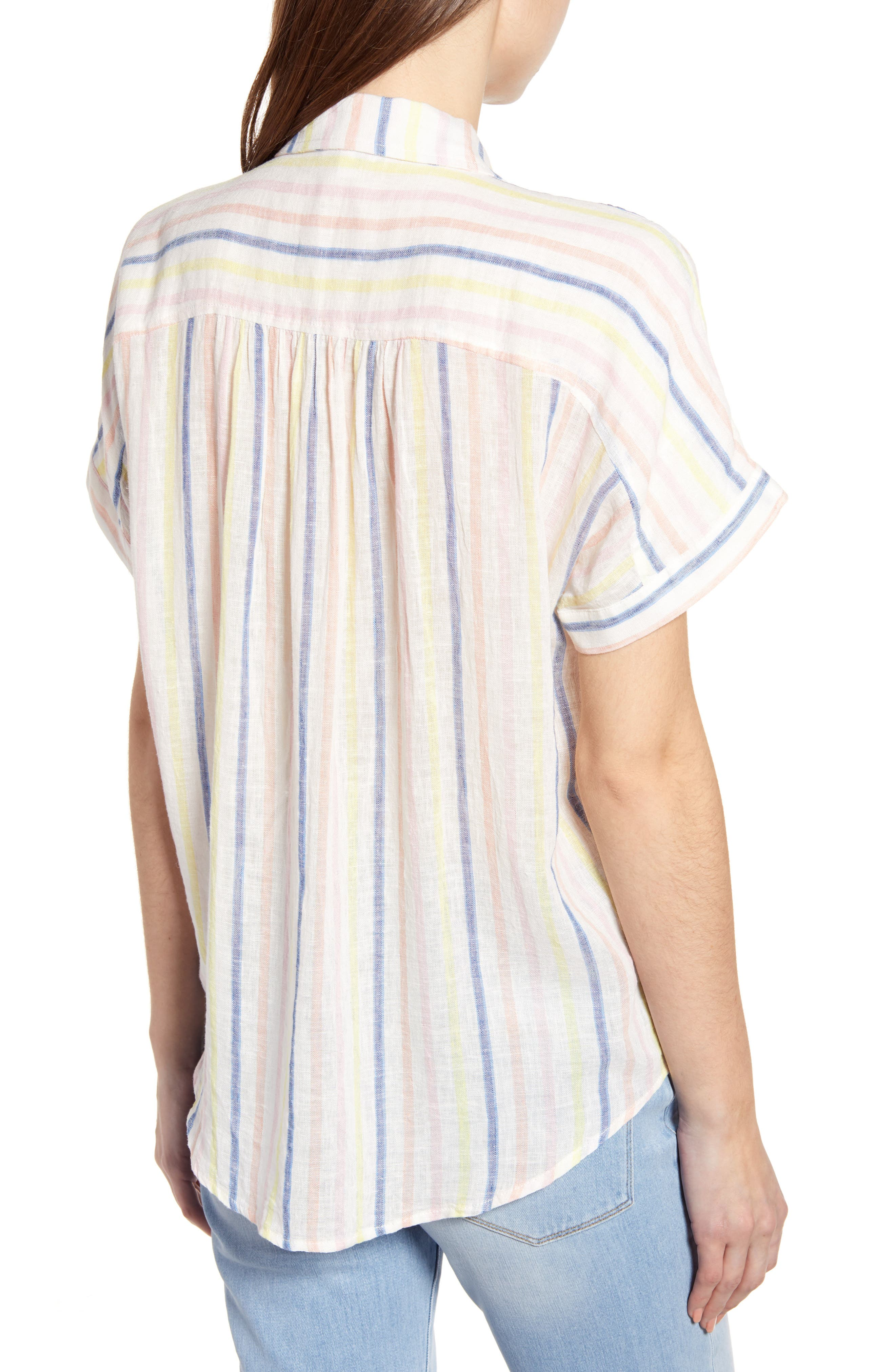 ,                             Picnic Stripe Shirt,                             Alternate thumbnail 2, color,                             NATURAL