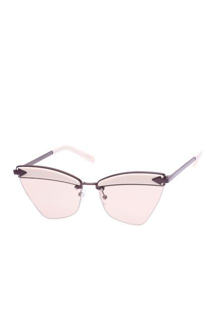 Image of Karen Walker Sadie 59mm Cat Eye Sunglasses