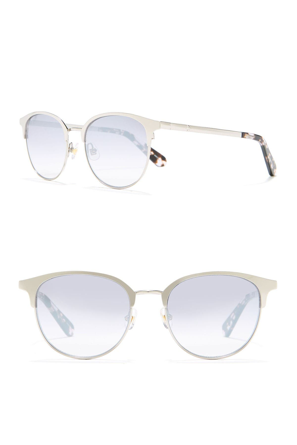 Image of kate spade new york joelynns 50mm clubmaster sunglasses
