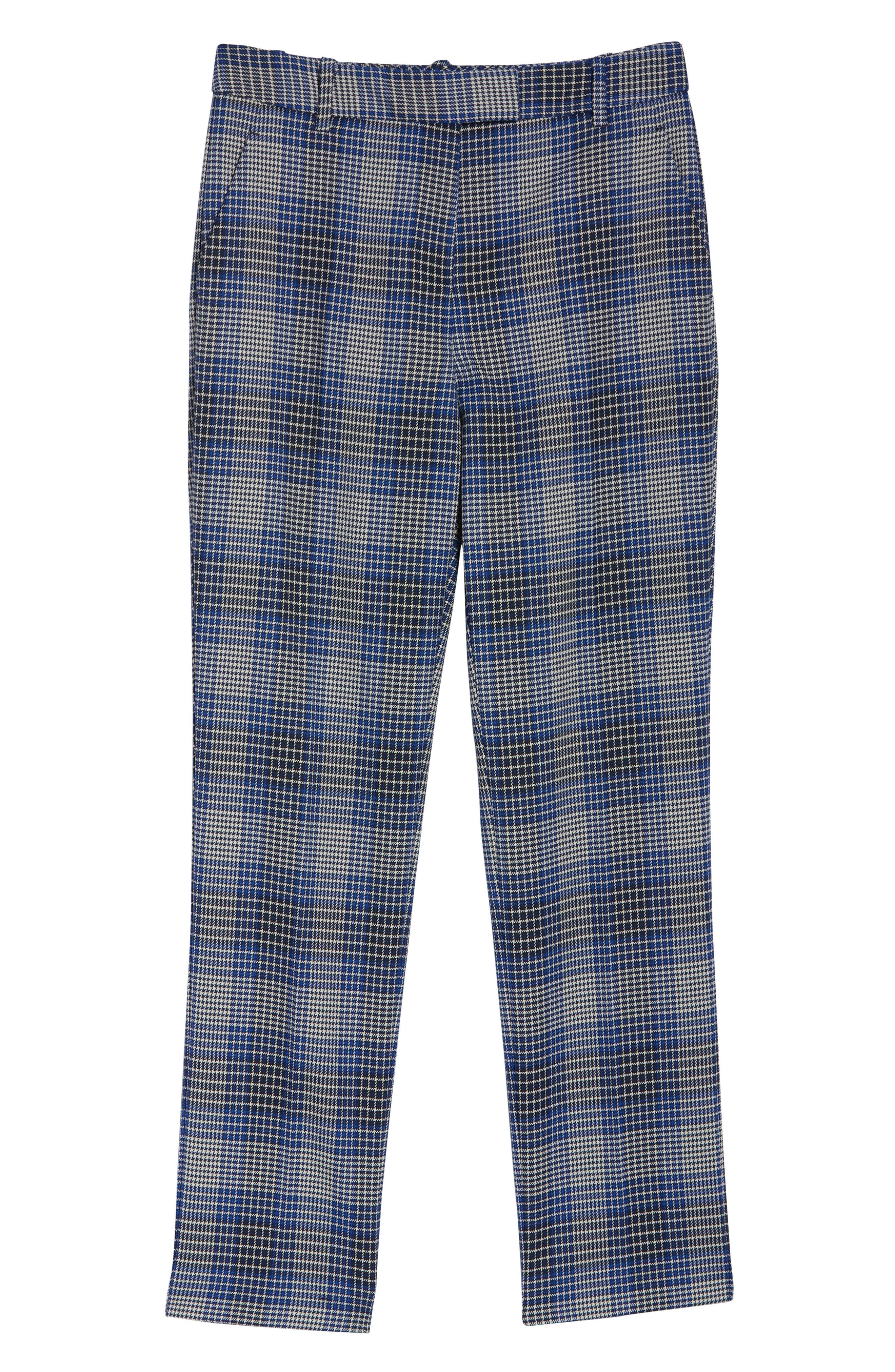 ,                             Josie Plaid Ankle Trousers,                             Alternate thumbnail 5, color,                             MULTI