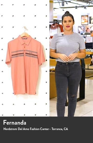 Floor Leader Slim Fit Short Sleeve Polo, sales video thumbnail