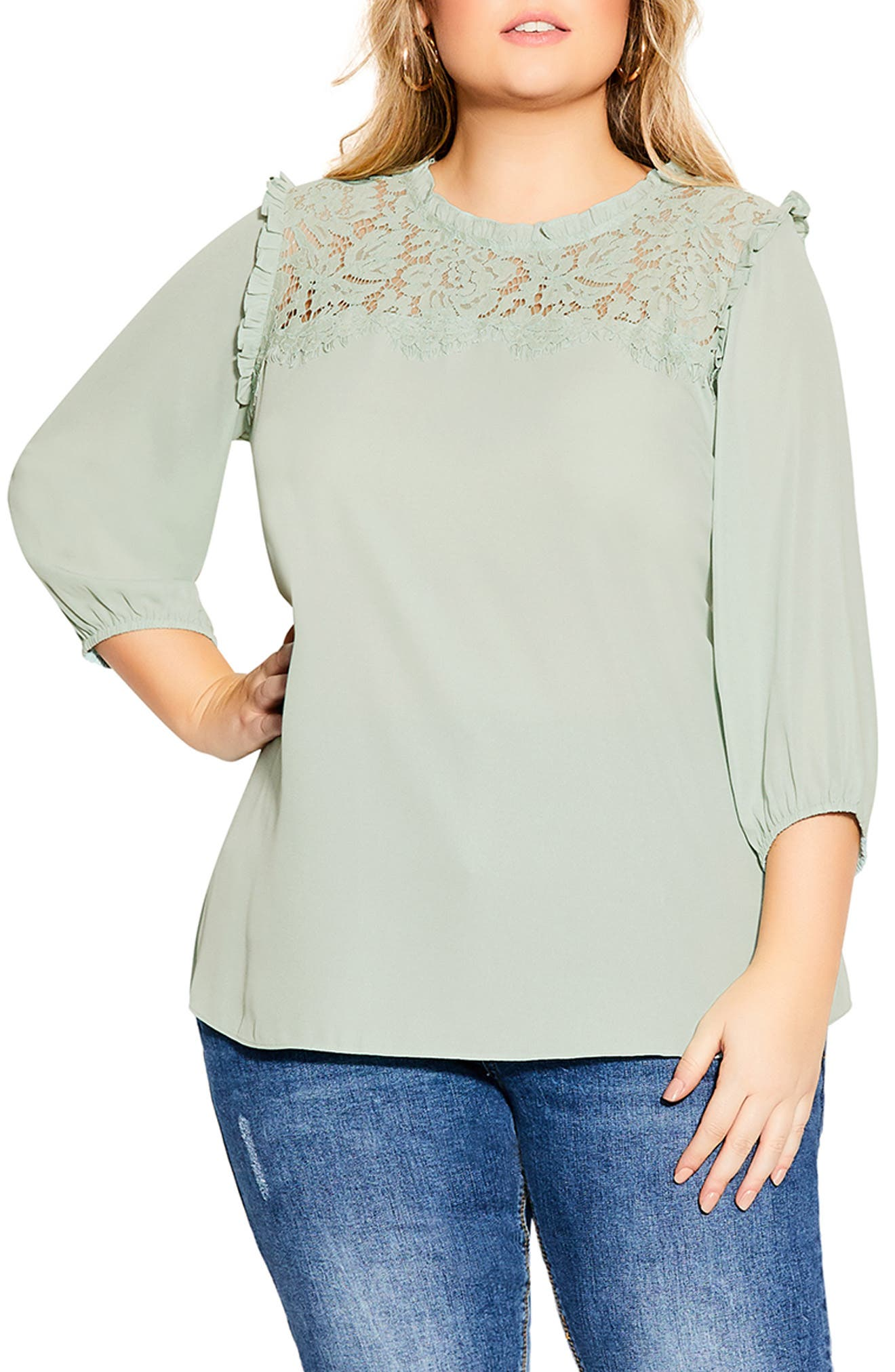 Lace Angel Top