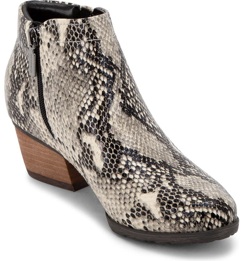 BLONDO Valli 2.0 Waterproof Bootie, Main, color, NATURAL SNAKE PRINT LEATHER