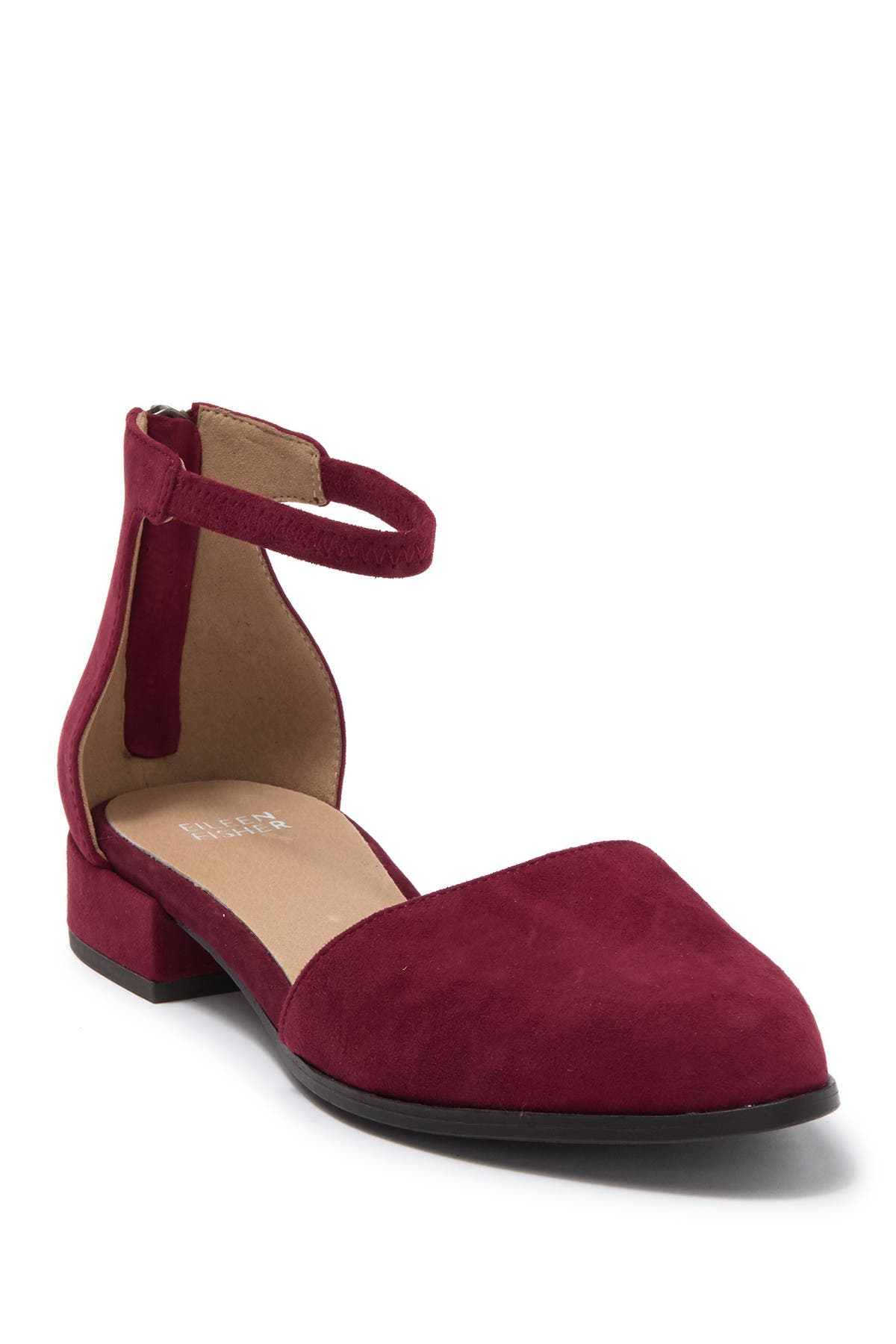 Image of Eileen Fisher Hutton Ankle Strap Flat