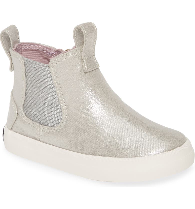 SPERRY KIDS Sperry Crest Mid Boot, Main, color, CHAMPAGNE
