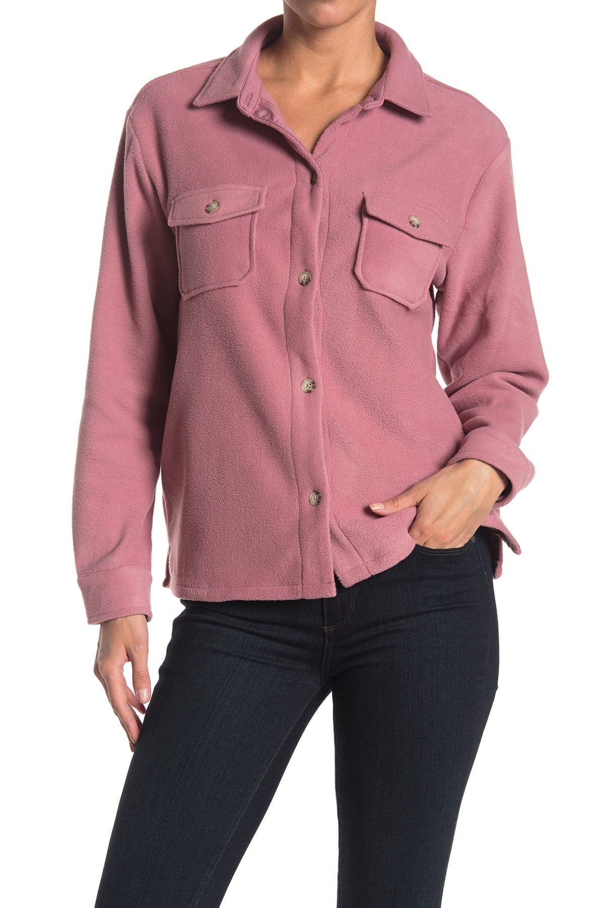 Image of C & C California Button Front Shirt