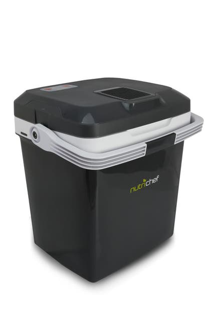 Image of NutriChef Electric Cooler & Warmer Thermo Heating Ability Mini Fridge