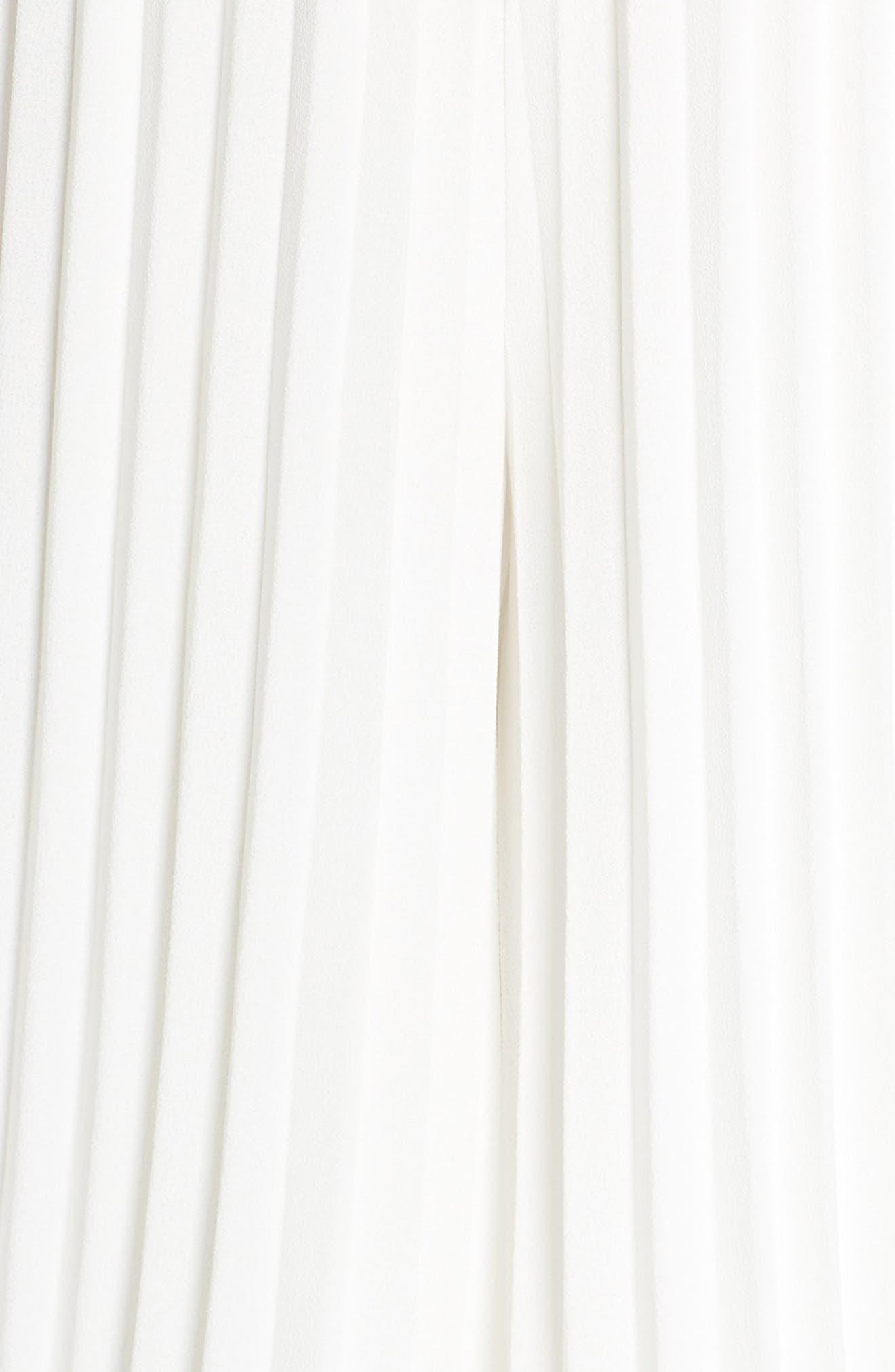 ,                             Be Mine Chiffon Jumpsuit,                             Alternate thumbnail 6, color,                             WHITE