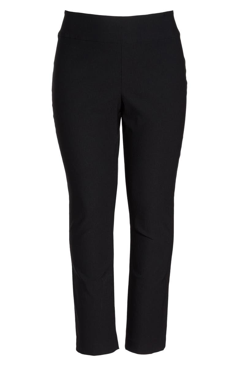 NIC+ZOE 'Wonder Stretch' High Rise Straight Leg Pants, Main, color, 004