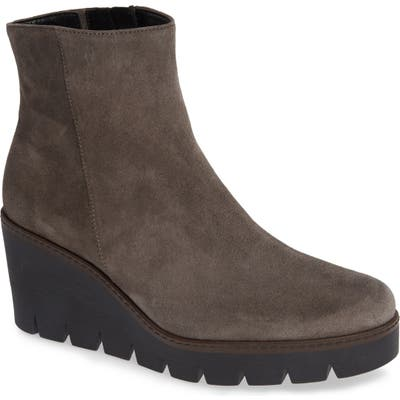 Gabor Friendly Wedge Bootie, Grey