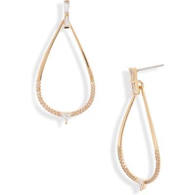Nordstrom Pave Teardrop Earrings