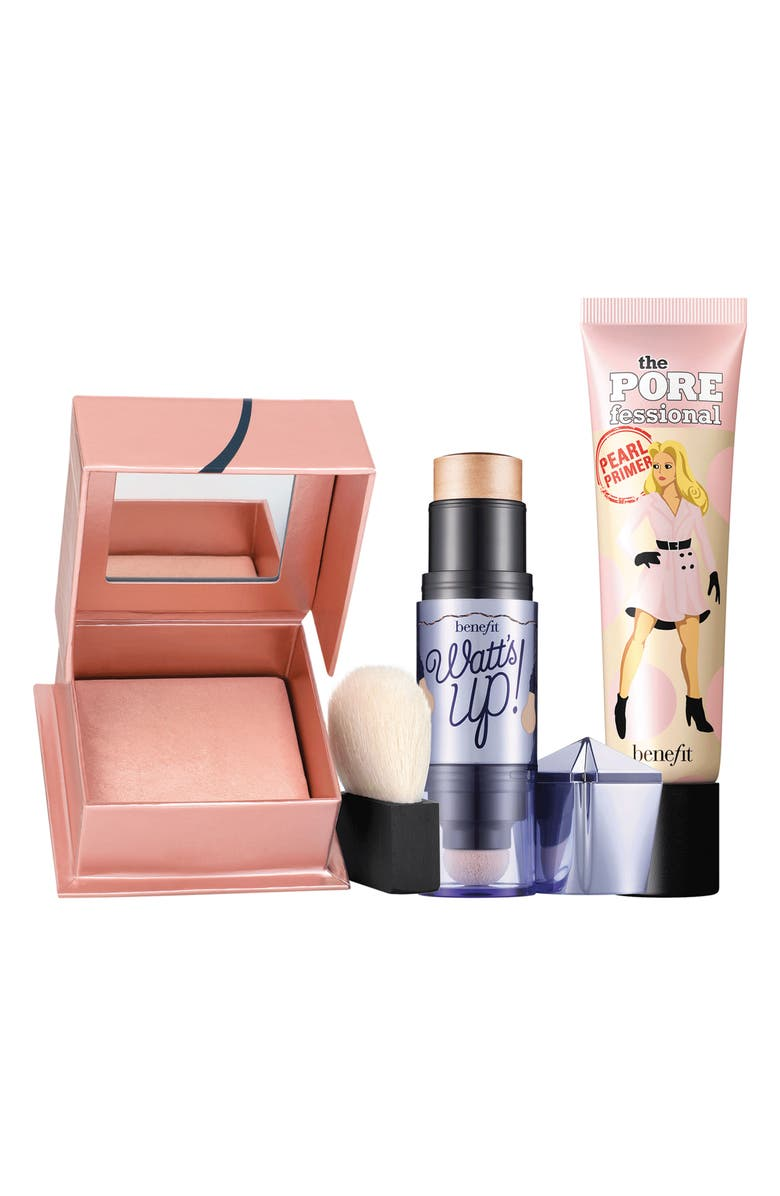 BENEFIT COSMETICS Benefit Days of Our Lights Full Size Set, Main, color, NO COLOR
