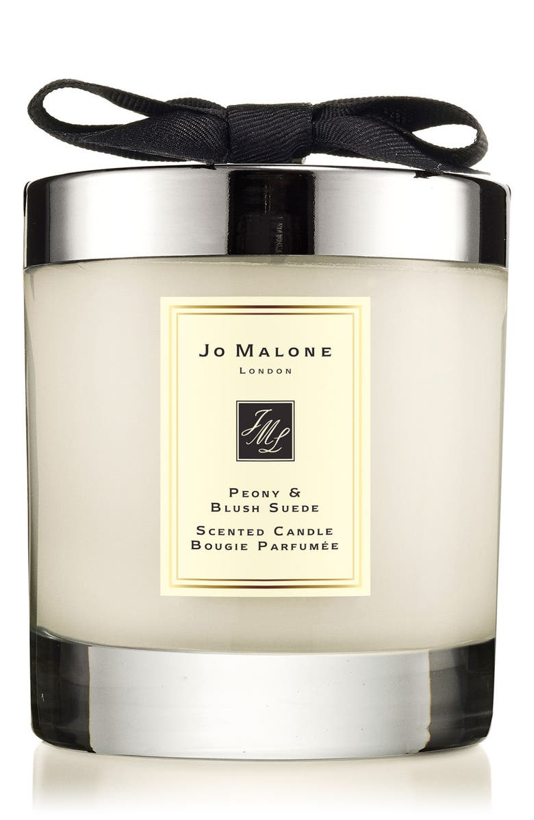 JO MALONE LONDON<SUP>™</SUP> Peony & Blush Suede Scented Candle, Main, color, NO COLOR