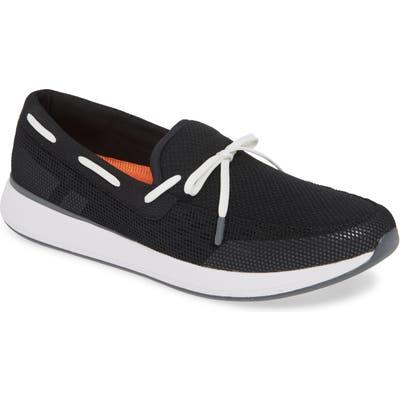 Swims Breeze Wave Boat Shoe, Black