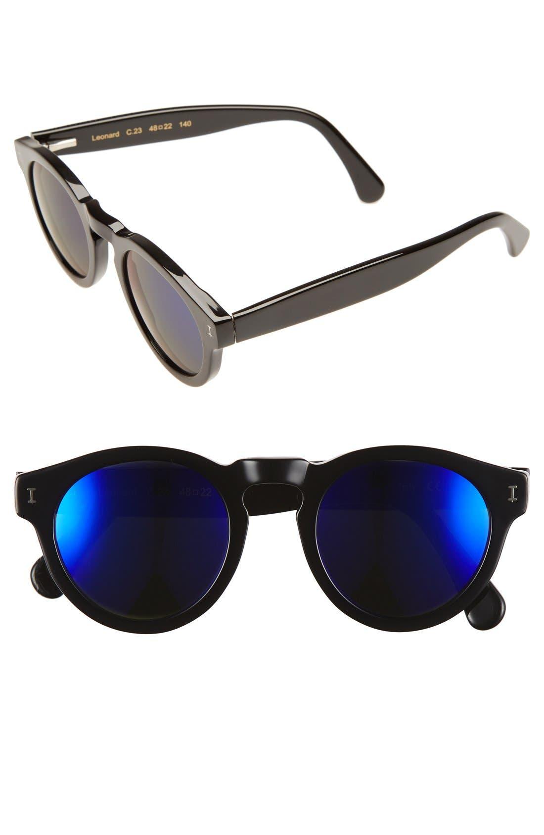 ,                             'Leonard' 47mm Sunglasses,                             Main thumbnail 41, color,                             033