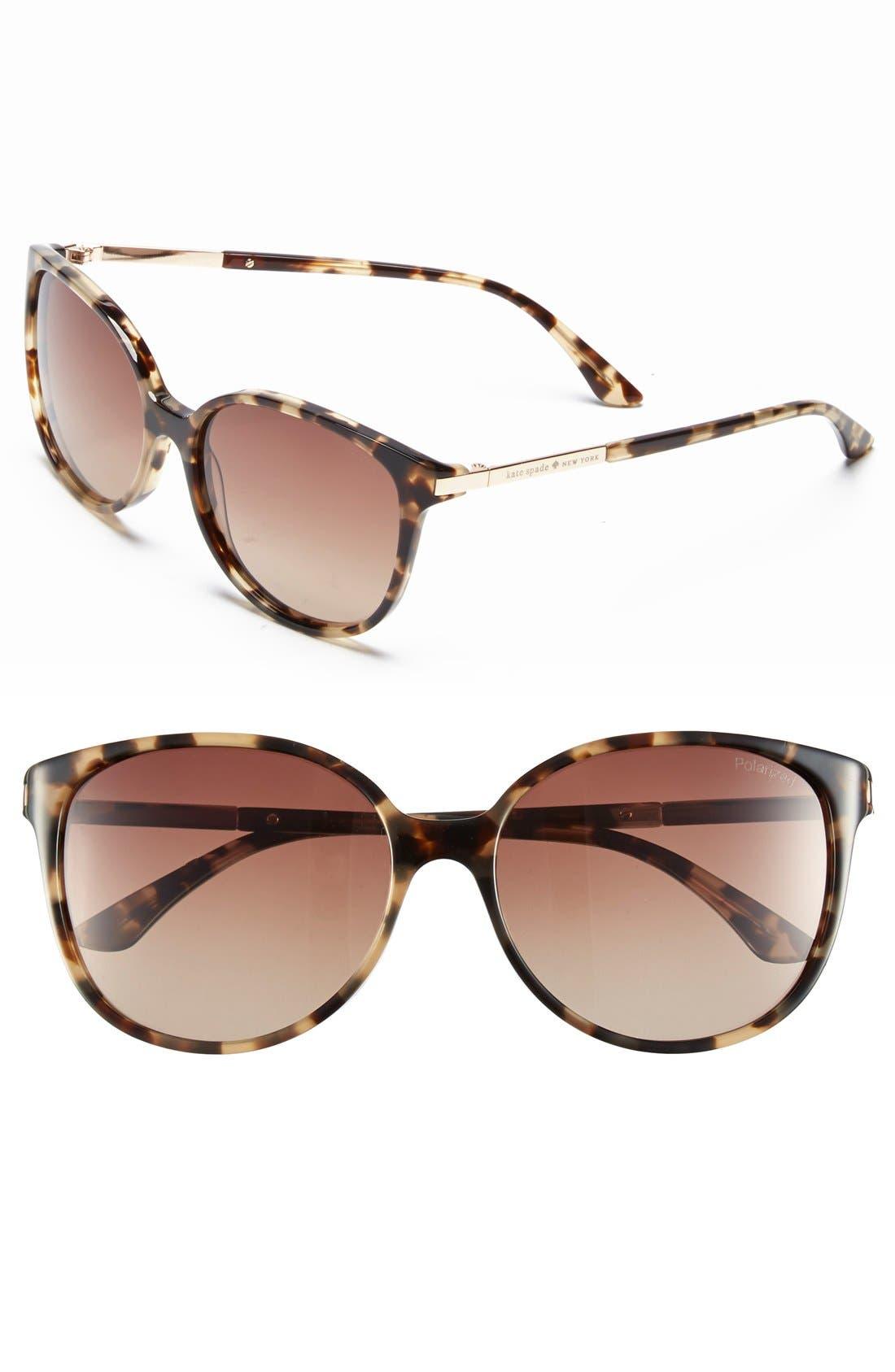 ,                             'shawna' 56mm polarized sunglasses,                             Main thumbnail 3, color,                             200