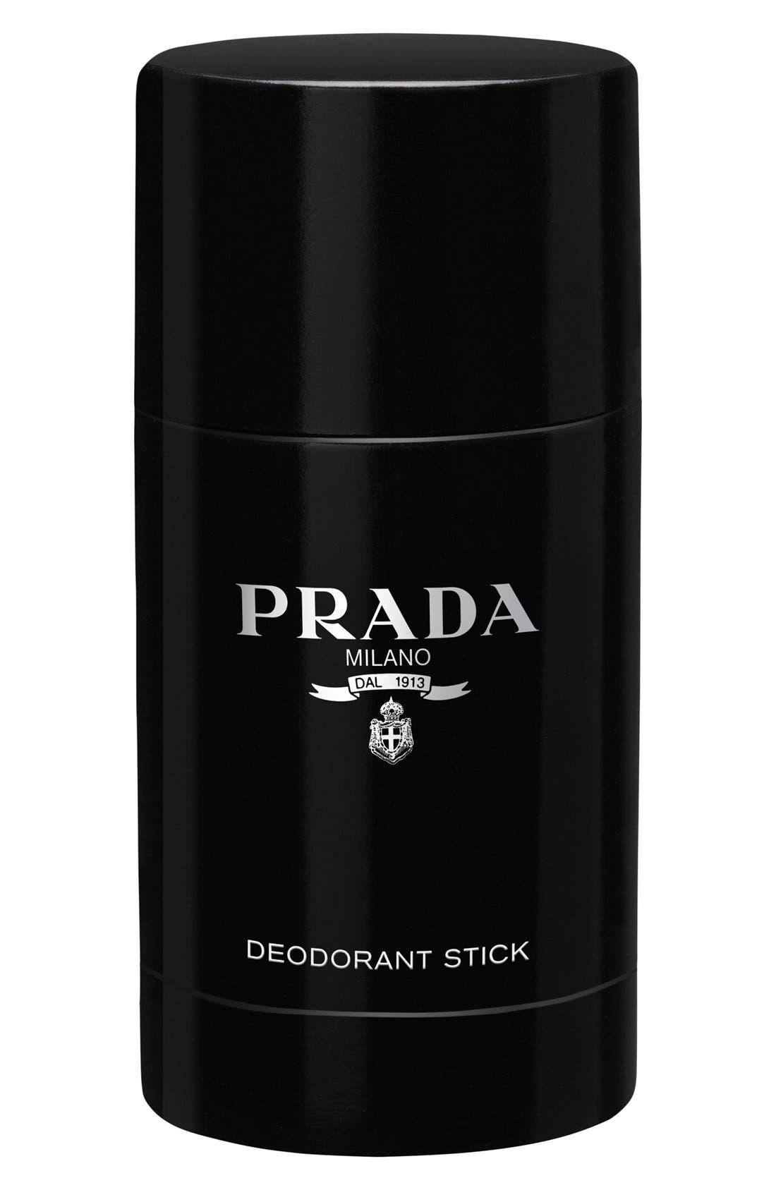 ,                             L'Homme Prada Deodorant Stick,                             Main thumbnail 1, color,                             NO COLOR