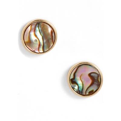 Argento Vivo Mother Of Pearl Stud Earrings