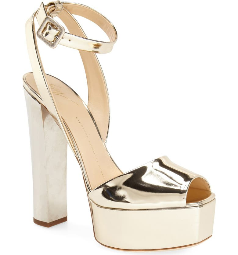 GIUSEPPE ZANOTTI 'Lavinia' Platform Sandal, Main, color, 710