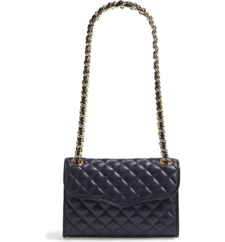 REBECCA MINKOFF 'Quilted Mini Affair' Convertible Crossbody Bag, Main, color, 446