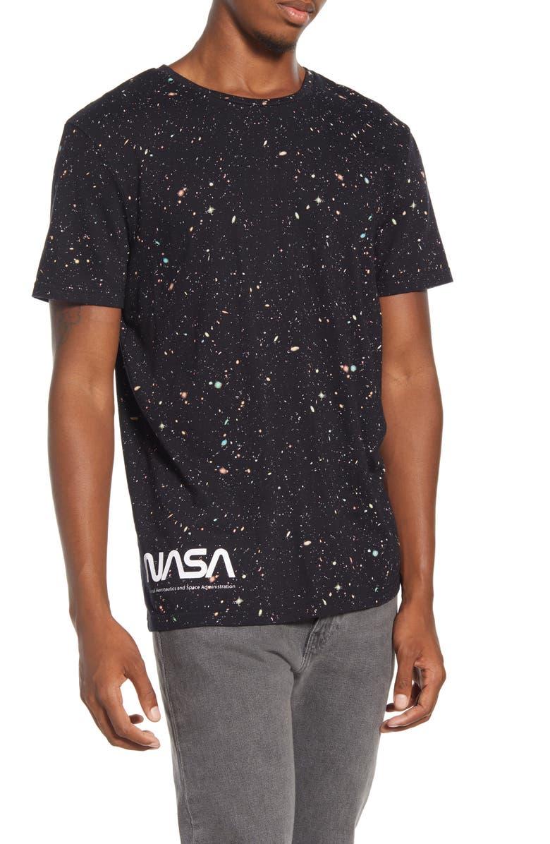 ELEVENPARIS Nace NASA T-Shirt, Main, color, BLACK