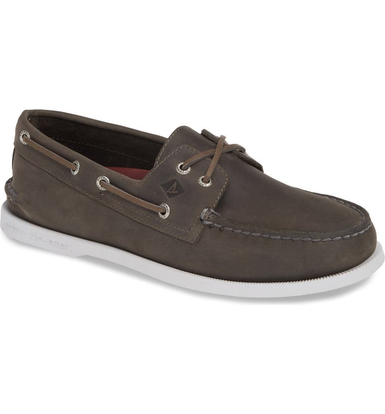 SPERRY Authentic Original Cross Boat Shoe, Main, color, 020