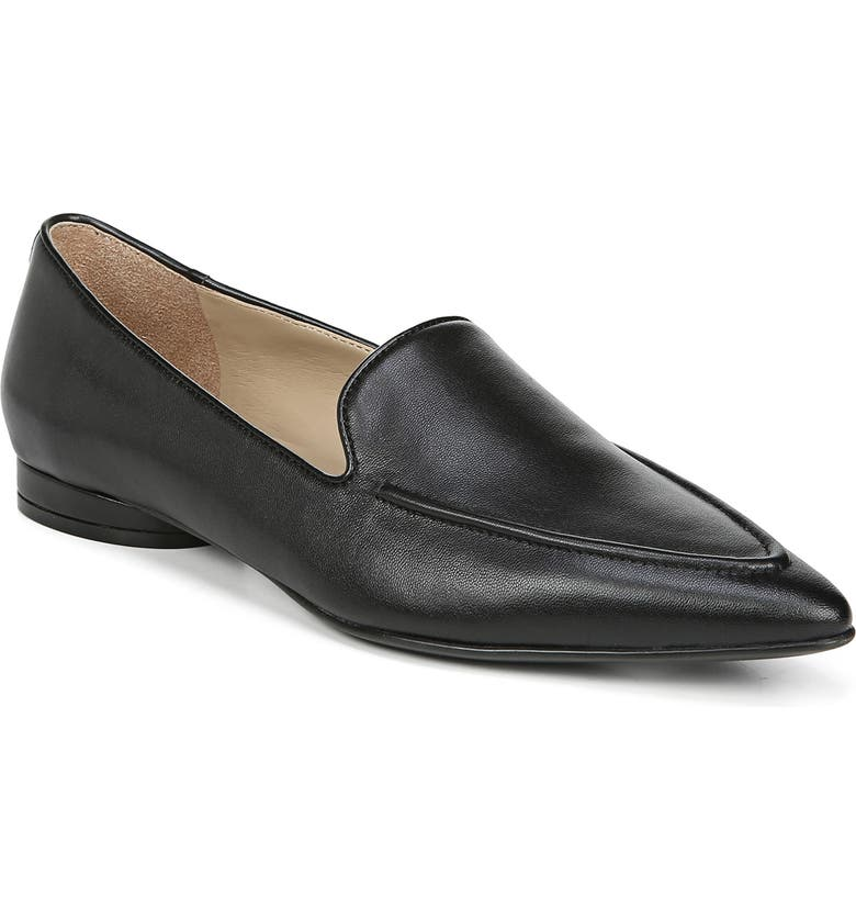 NATURALIZER Haines Loafer, Main, color, BLACK LEATHER