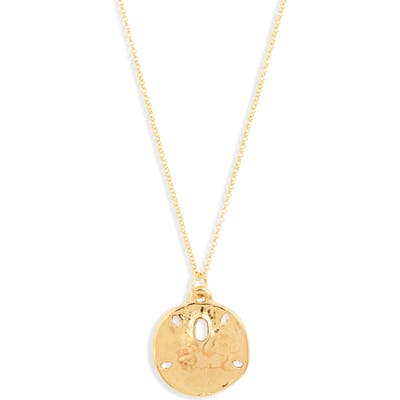 Lux Divine Shell Pendant Necklace
