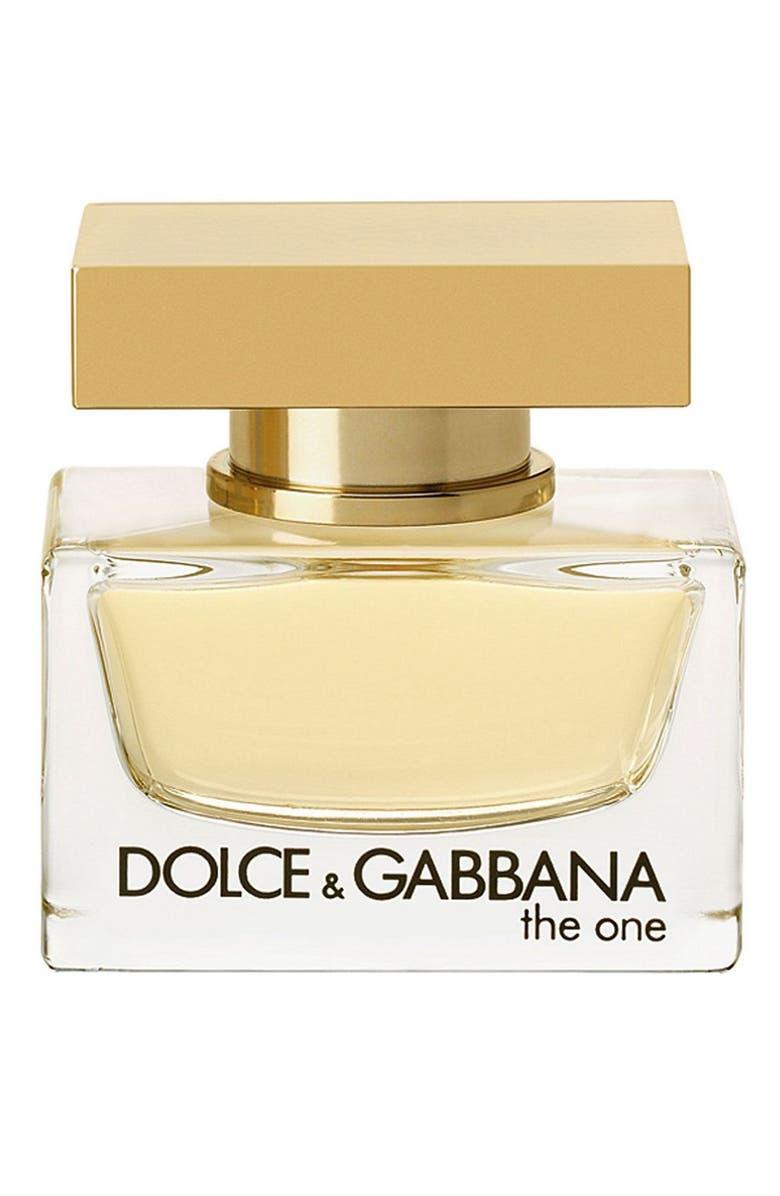 DOLCE&GABBANA Beauty The One Eau de Parfum, Main, color, NO COLOR