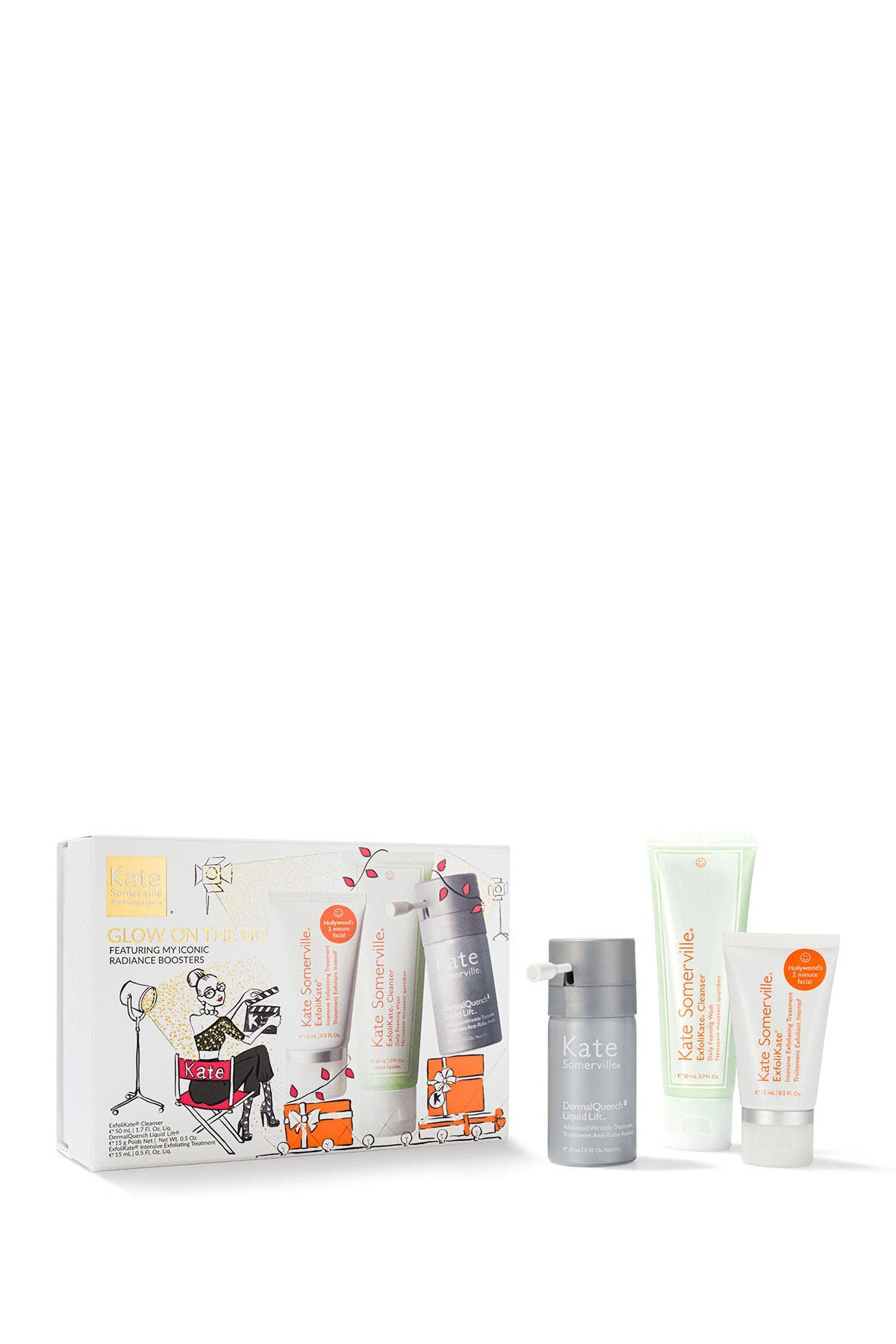 Image of Kate Somerville Glow On the Go Kit